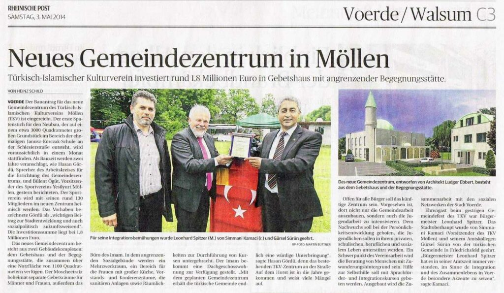 Zeitungsartikel Walsum